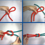 Cómo hacer un nudo llano