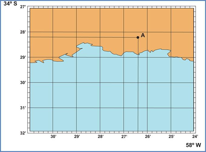 Coordenadas Carta Náutica Proyección Mercatore