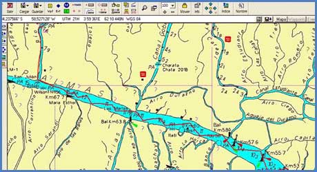 Clínica de Navegación electrónica (Ozi Explorer)