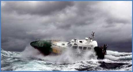 Cursos de Navegación con mal tiempo