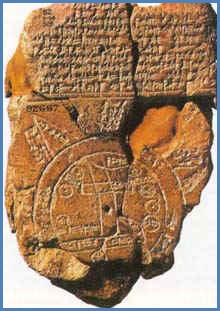 Mapa babilónico