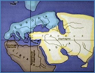 Mapamundi de Dicearco