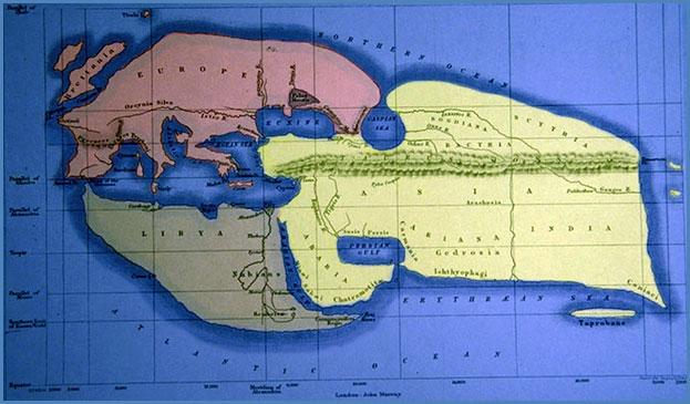 Mapamundi de Eratóstenes