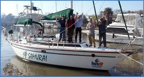 Nuestras embarcaciones - motovelero alpha 36