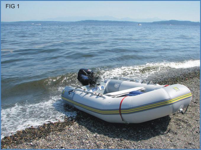 Tipos de embarcaciones de motor - Bote Inflable