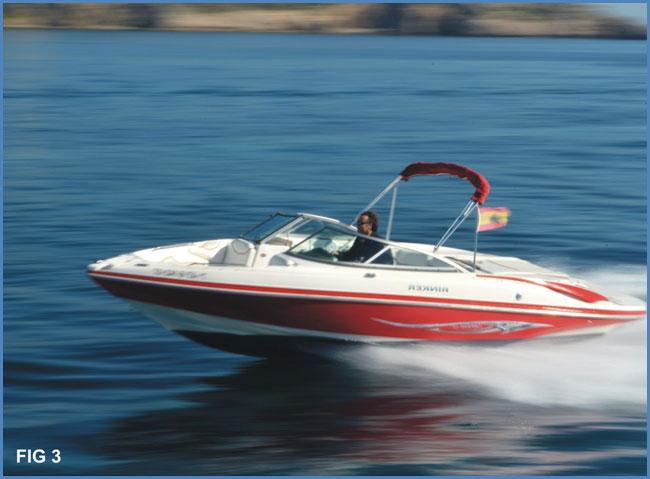 Tipos de embarcaciones de motor - Lanchas de cabina abierta (open)